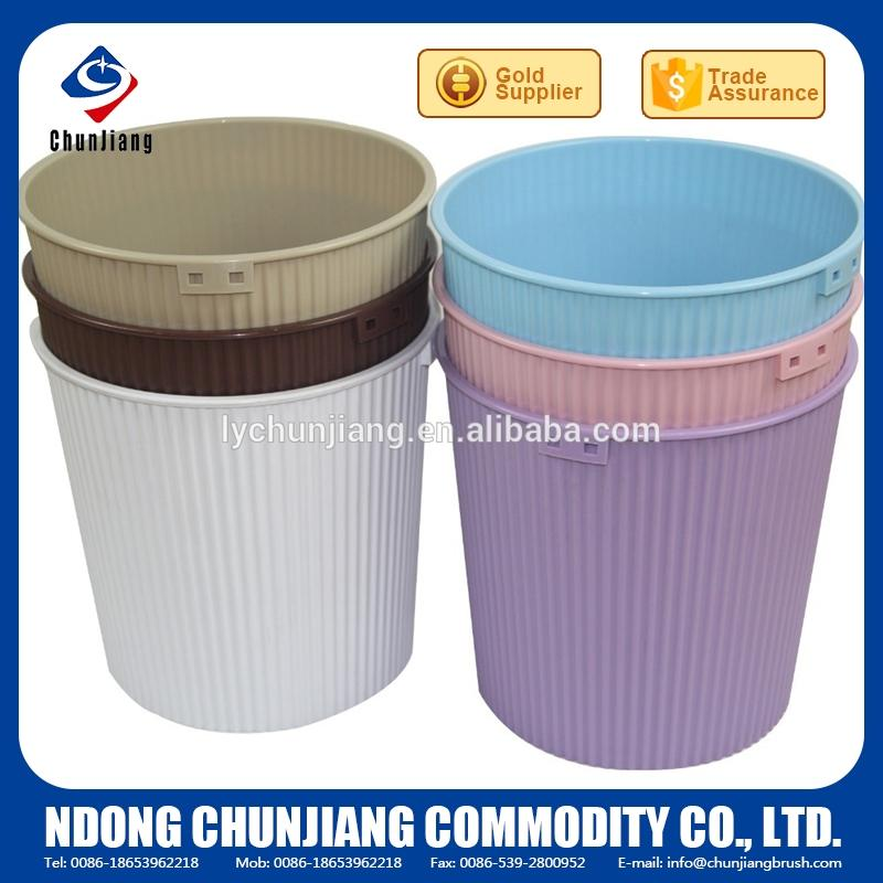 multicolor plastic waste bin with good quality