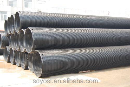 2000mm de gran di metro de acero reforzado carton for Tubo corrugado reforzado