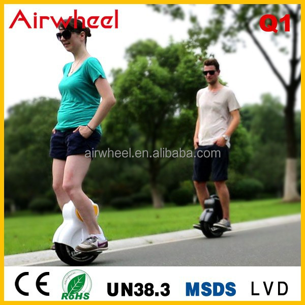 2015 Airwheel Q1cheap new mopeds twin wheel electric unicycle