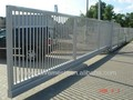 Outdoor cantilever sliding gate/Wrought iron sliding gate(Factory)