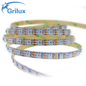 Hot sell flexible 144led/m ws2813 flex led strip 5050 smd ws2812 arduino-compatible made in PRC