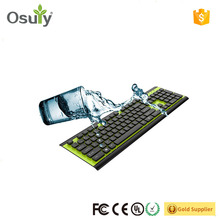 Best selling slim business japanese IPX65 washable keyboard with reasonable price