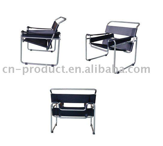 wassily stuhl durch marcel breuer wohnzimmer sessel. Black Bedroom Furniture Sets. Home Design Ideas