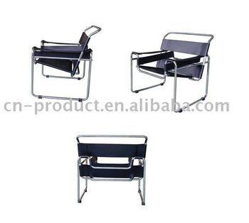 wassily stuhl durch marcel breuer buy product on. Black Bedroom Furniture Sets. Home Design Ideas