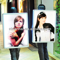 J1C-073 The best selling products backpack illuminated led magnetic light box with high bright LED light