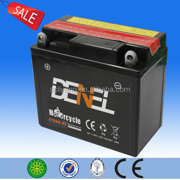 High capacity and long life 2014 best battery brands of motorcycle parts manufacture of electric tricycle battery