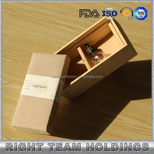 hot selling&handmade packing wood case and bamboo box for e liquid bottles