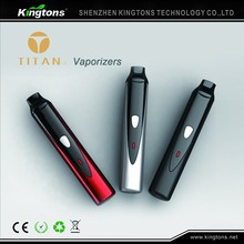 Kingtons 100 % Original TITAN 1 dry herb vaporizer pen ego t wholesale