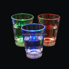 Personalized Light up 2 oz Liquid Activated Shot Glass with Custom Printing