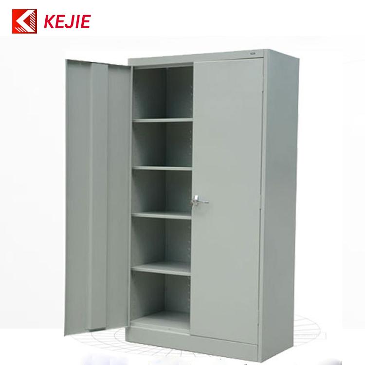 Metal Black Lock/key Safety Office Metal Cupboard 2 Door ...