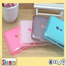 Shemax wholesale Transparent colorsoft tpu case for Motorola Moto G cell phone