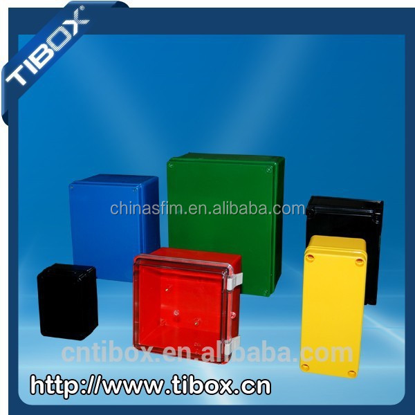 ul listed junction box plastic box with knock out and rubber ul listed junction box