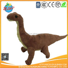 green dinosaur plush toy