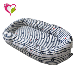100% Cotton and Useful Portable Baby Sleep Snuggle Baby Nest