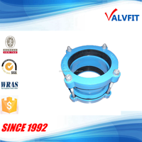 Ductile cast iron wide range coupling