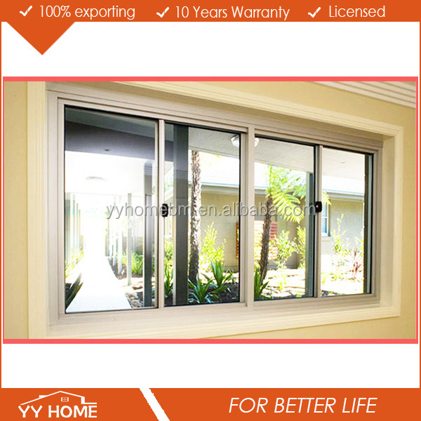 YY Home cheap sliding window car sliding window office interior sliding window