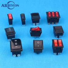 KCD3 KCD4 rocker switch KCD series 3A 6A 10A 16A 12V 125V 250V rocker switch UL CE