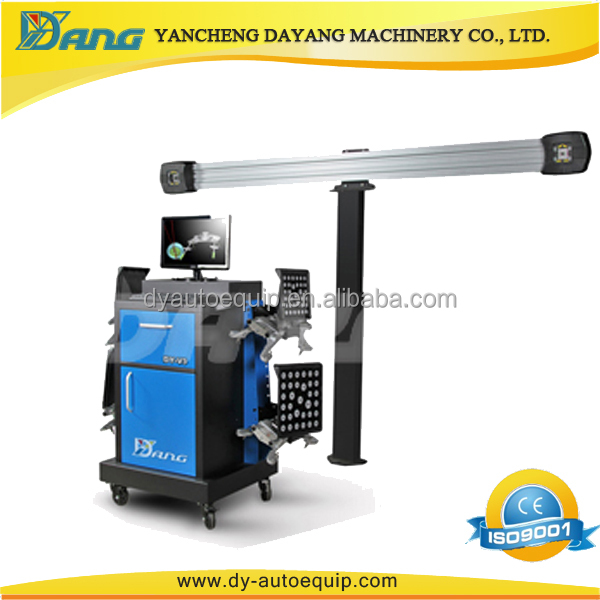 Dayang V3DII 3D wheel alignment slip plates