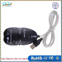 Electric Guitar to USB Interface Audio Link Cable Music Recording Adapter