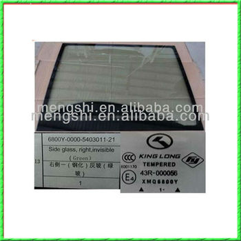 Bus parts bus front windscreen suitable for King Long Higer Golden Dragon Yutong bus
