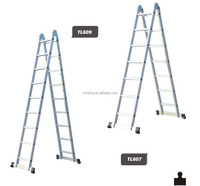 Multi-purpose Ladder/Double sides aluminium ladder with 7 steps TL-607