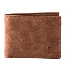 JUNYUAN New Design ID Card Leather <strong>Wallet</strong> For Men