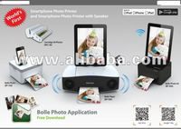 Mobile Phone Docking Audio with built in phot printer first time in the world