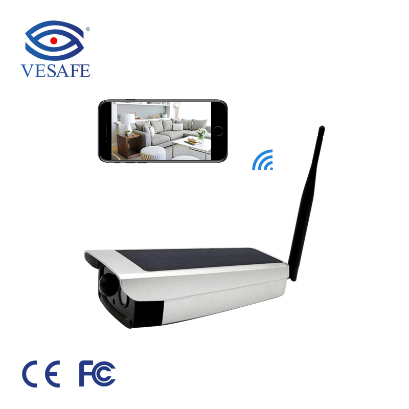 waterproof 1080p wireless solar powered cctv ip camera outdoor <strong>security</strong> with battery