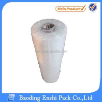 clear plastic PE stretch wrap packing materials sealing foil