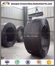 Hollow core 15.24mm stainless galvanized steel cable wire rope PC strand
