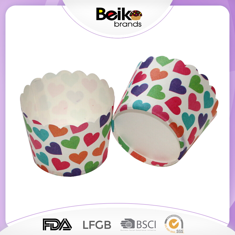 Oven Baking Tools Colorful Paper Cake Cup Tray Liners
