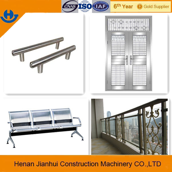 hot sale 201 stainless steel tube for home decoration