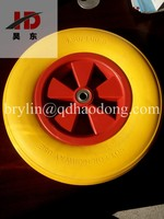 Wheelbarrow wheel 400-8 PU foam