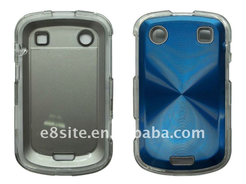 Plastic With Aluminum Crystal Cover For BlackBerry Bold/9900/9930