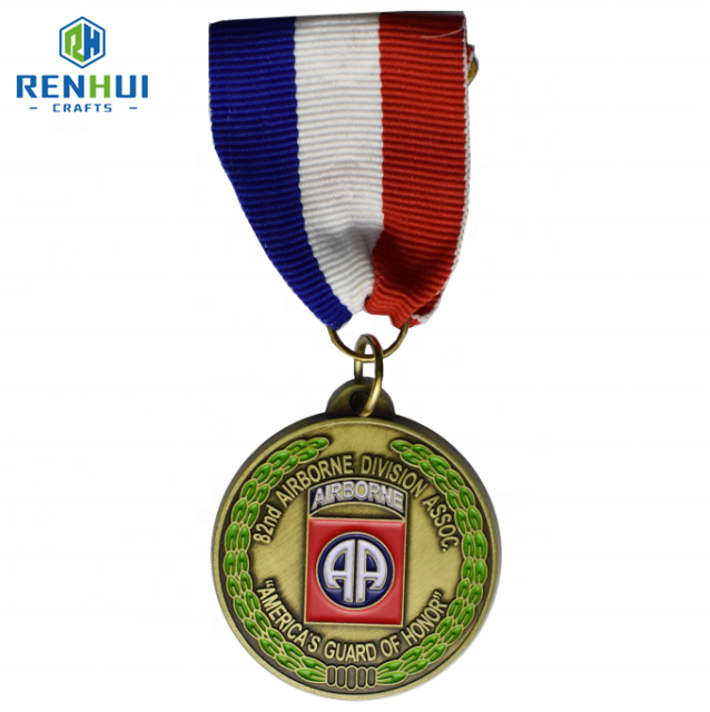 Supplier design and machine to make custom china cups metal bronze 3d sports weightlifting medal of honor