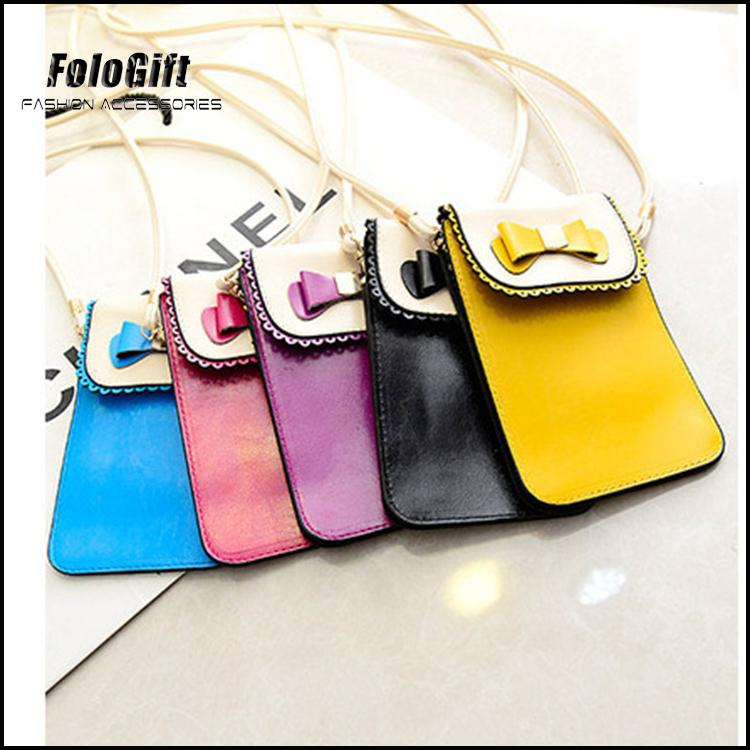 Dazzling designer leather felt coin purse Guangzhou Supplier