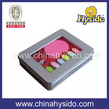school & office tin box z sticky notes as gift