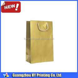 Matte Gloss Metallic Color Shopping Bags