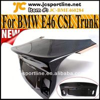E46 M3/4DR Carbon Fiber E46 CSL Rear Trunk For BMW E46 98~05 3 Series Sedan