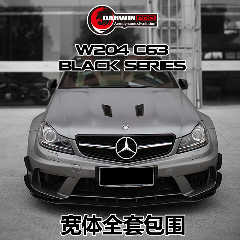 12-14 Ben*z C-Class w204 C63 AMG Car Convert to Black Series Style Body Kit Auto Parts Car Bumpers