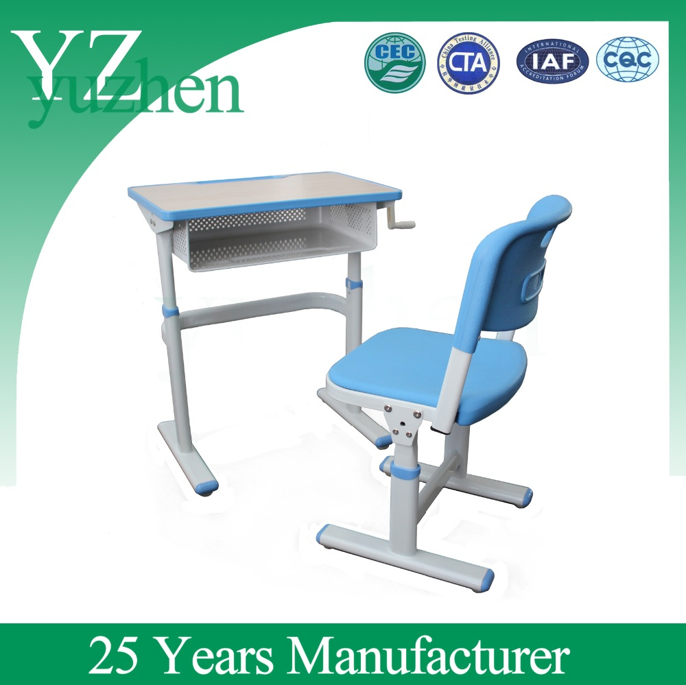 Height Adjustable Student Desk and Chair/Children Desk and Chair/Modern School Desk and Chair