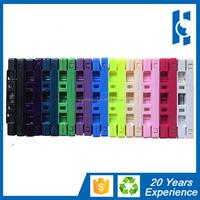 blank cassette audio tape in multi color