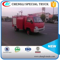 CHANGAN 4*2 95hp 0.5ton 500L Mini Water Tanker Appliance Carrying Fire Vehicle