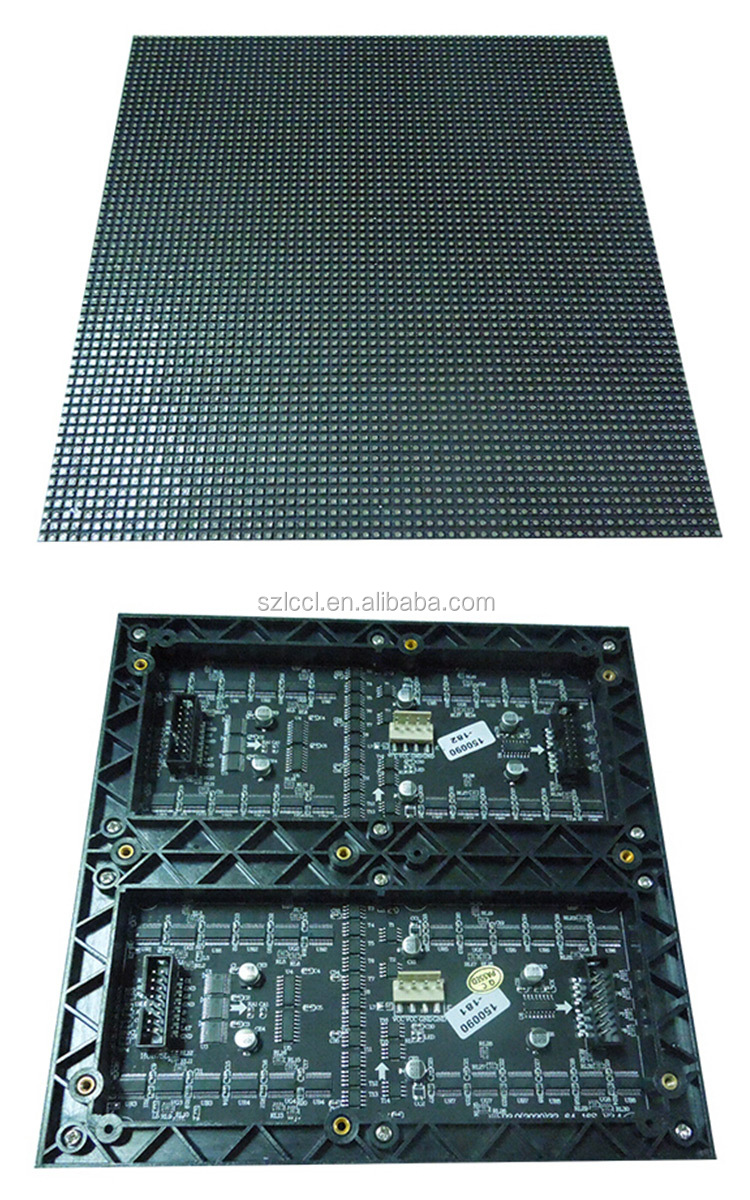 High Brightness LED moving message indoor full color smd p3 led pixel module