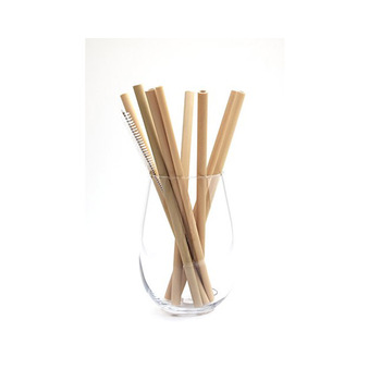 High quality  disposable custom printed drinking biodegradable straws bamboo