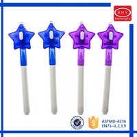 New design high quality promotional gift star cap invisible uv marker