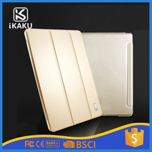 "China supplier mix order strong wake up and sleep function 10"" flip tablet pc leather case for ipad air 2 9.7"""