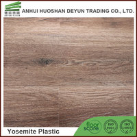 PVC Material and Plastic Flooring Type peeling and stick vinyl floor