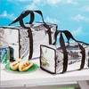 Thermal Tote Bags Insulated Large Small Set Picnic Hot or Cold Food Storage