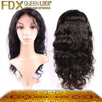 china full lace braided wig for white women human hair